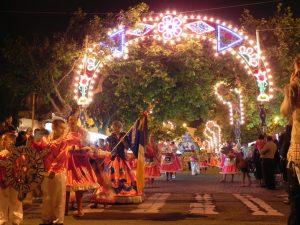 Esposende - desfile na noite de S. João