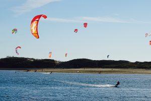 Esposende, kite-surf no rio cávado, agosto 2017