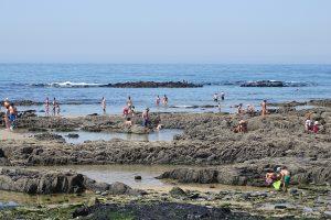 Praia de Cepães, agosto 2017